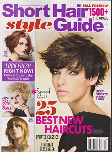 Celebrity Hairstyles Presents #113 Short Hair Style Guide Magazine Fall 2015 (Magazine Hair Celebrity Styles)