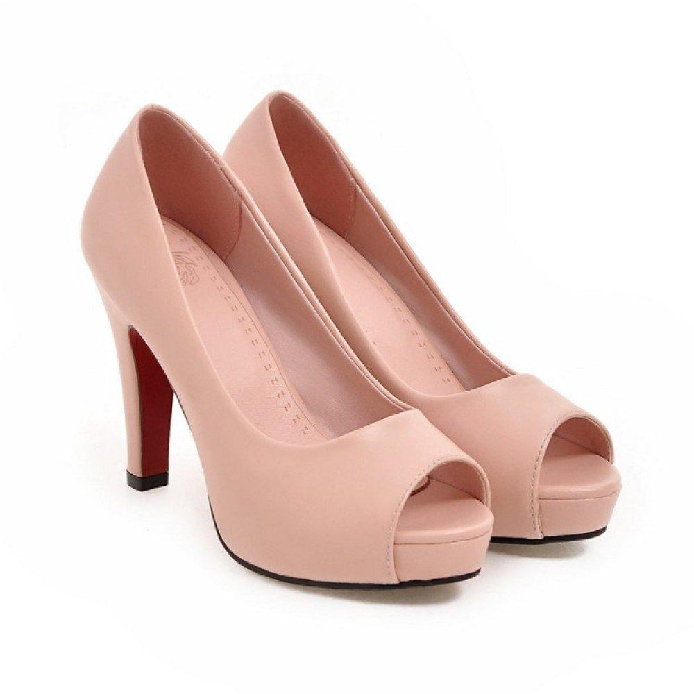 Arbeiten Sie Neue Frauen Plattformen Damen High Heel Stiletto Floral Peep Peep Floral Toe Ankle Strap Schuhe Größe 43f864