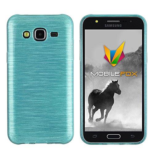 Mobilefox Paul Schutzhülle Soft Case Samsung Galaxy J5 (2015) Blau