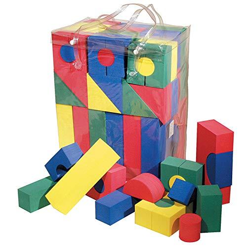 (Chenille Kraft WonderFoam Foam Blocks, 68 Pieces)