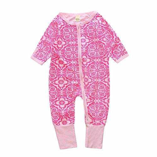 Kids Tales Newborn Baby Girl Girl Sleepwear Long Sleeve Rompers Playsuit Jumpsuit Onesies