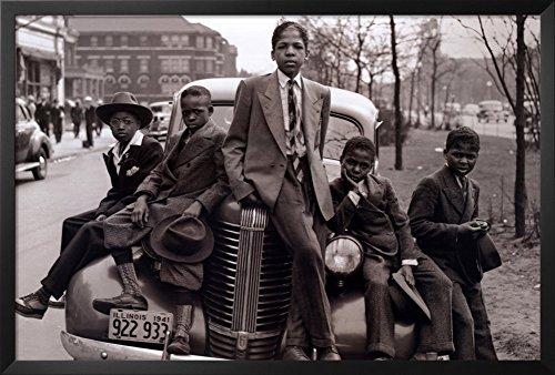 Chicago Boys - 1941 Framed Poster 38 x 26in