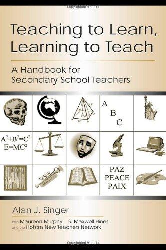 Teaching to Learn, Learning to Teach: A Handbook for Secondary School Teachers