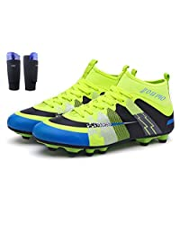 YouMo FG Children's Athletic Soccer Shoes Football Boots (Little Kid/Big Kid)