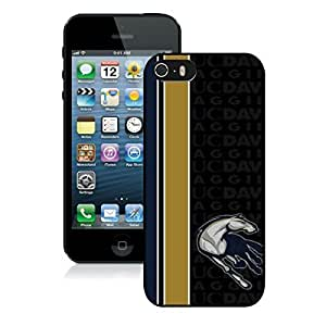 Beautiful Designed Case With NCAA Big Sky Conference Football UC Davis Aggies 1 Black For Case For Htc One M9 Cover