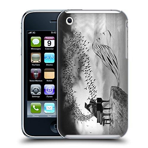 Officiel Graham Bradshaw Oiseau chanteur Illustrations Étui Coque D'Arrière Rigide Pour Apple iPhone 3G / 3GS