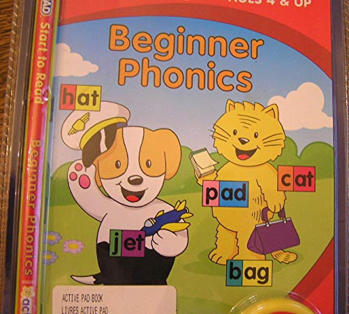 ActivePad, Beginner Phonics, Start to Read (Interactive Book and Cartridge for use with ActivePad) by activePAD (Image #1)