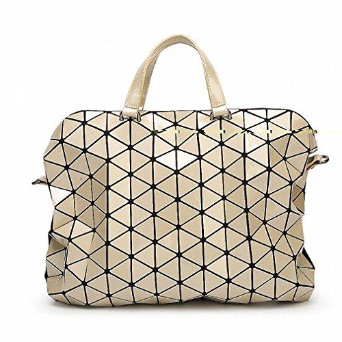 Quilted Plaid Handbag - 5