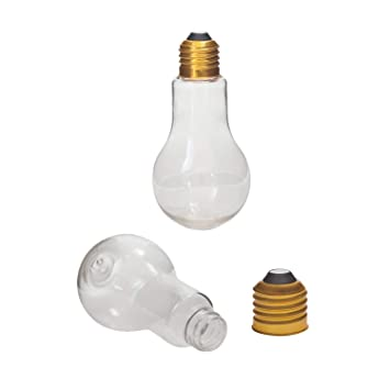 Amazoncom Houseables Fillable Light Bulb Candy Container Plastic