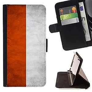 Momo Phone Case / Flip Funda de Cuero Case Cover - Nacional bandera de la nación País Polonia; - Samsung Galaxy Note 4 IV