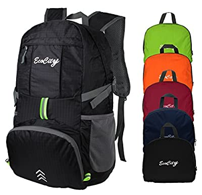 EcoCity Ultra-light Foldable Multipurpose Backpacks for Camping, Hiking, Trekking, Mountain and Climbing With Hydration System