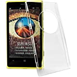 2010kharido Crystal Clear Transparent Hard Back Case Cover for Nokia Lumia 1020