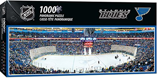 - MasterPieces NHL St. Louis Blues 1000 Piece Stadium Panoramic Jigsaw Puzzle