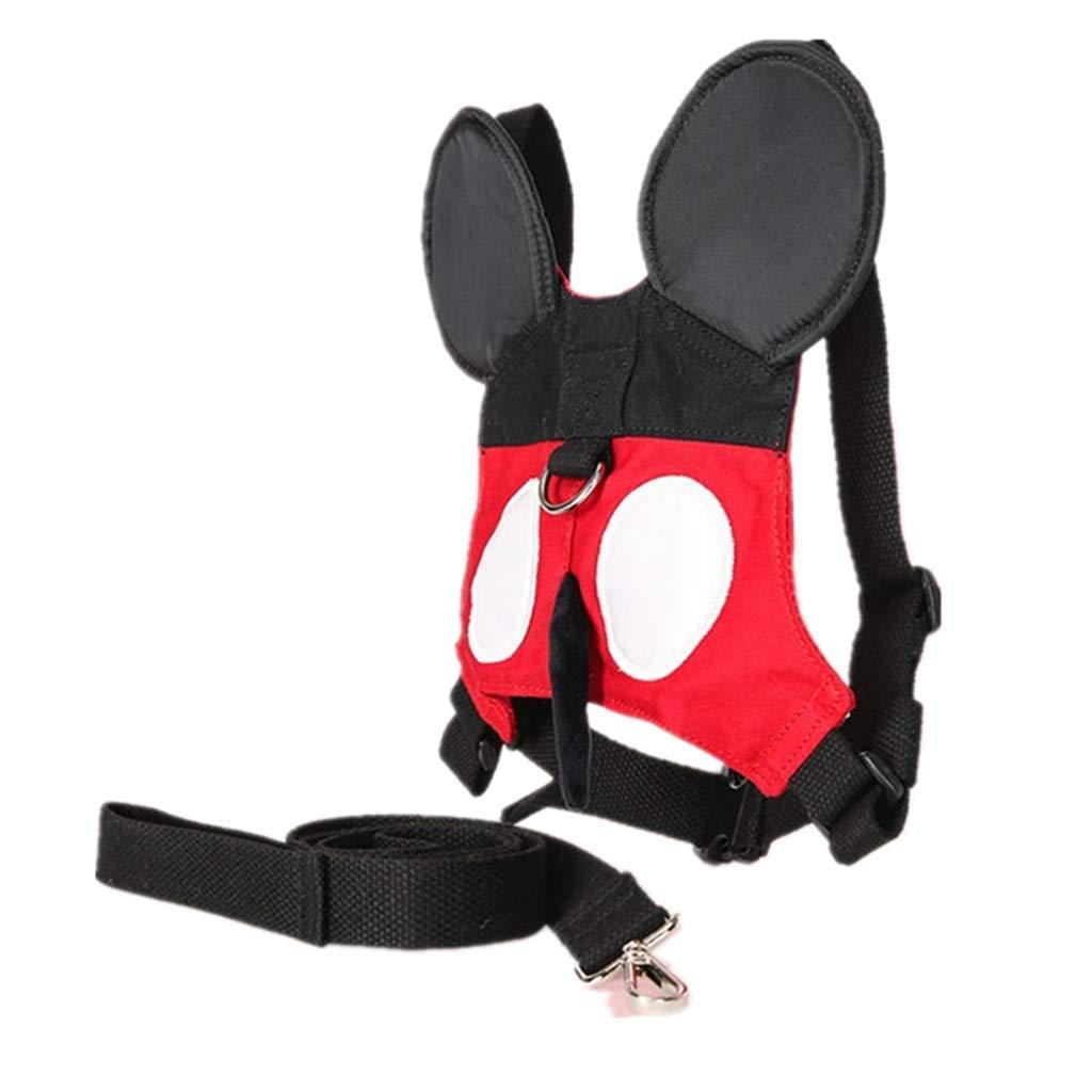Ymeibe - Arnés de seguridad para caminar con correa rojo rosso ...