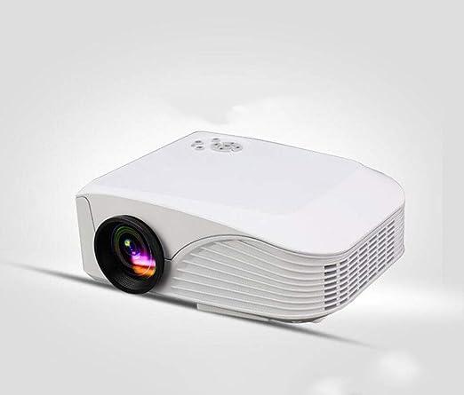 MOOMDDY Proyector de Oficina, proyector portátil HD Home Theater ...