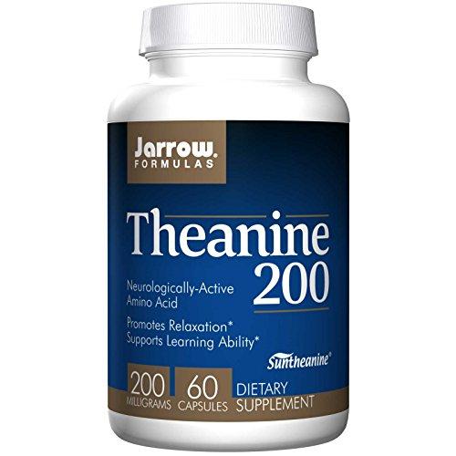 Jarrow Formulas Theanine 200mg Capsules