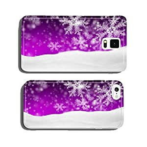 Winter landscape, snow, snowy, background, purple, violet cell phone cover case iPhone6 Plus