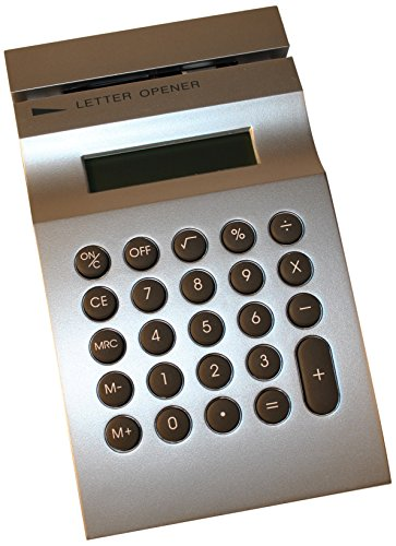 Budd Leather Calculator with Letter Opener