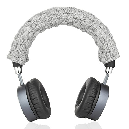 Timibis Headphone Replacement Headband Cover for Bose, AKG, Sennheiser, Sony, Beats, Audio-Technica Comfort Cushion/Top Pad Protector (Gray)