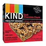 KIND Healthy Grains Bars, Dark Chocolate Chunk, Non GMO, Gluten Free, 1.2 oz, (60 Bars) For Sale