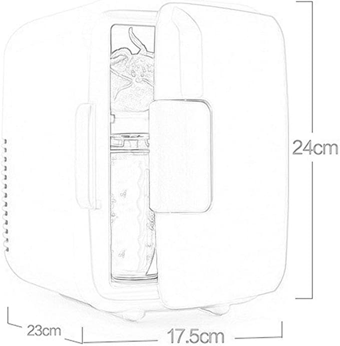 48 W R/éfrig/érateur De Voiture Portable Refroidissement // Isolation Refroidisseur De Boissons Silencieux Mini-r/éfrig/érateur // Cong/élateur Compact Adapt/é Pour Voiture // Voyage // Maison // Dortoir,