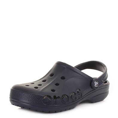 1714c74a3 Unisex Crocs Baya Navy Clogs Sandals SIZE 6 EU 38   39 US M6   W8   Amazon.co.uk  Shoes   Bags
