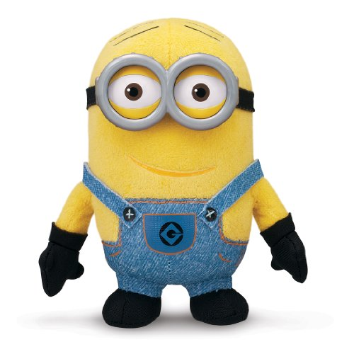 Despicable Me Buddies-Soft Huggable Friends-Minion Dave Plush ()
