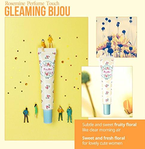 Bijou Perfumes - Rose Mine Perfume Touch Gel Perfume 0.44 oz (Gleaming Bijou) [K-Beauty] Easy to Carry Hydrating Light-weight Gel Perfume