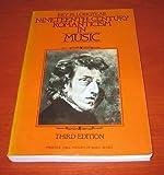 Nineteenth-Century Romanticism in Music (Prentice-Hall History of Music Series)