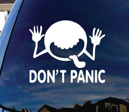 SoCoolDesign Don't Panic Galaxy Car Window Vinyl Decal Sticker 6