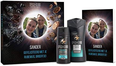Estuche de regalo Axe - Gel de ducha & Desodorante + Bullet journal: Amazon.es: Belleza