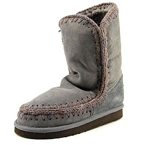 MDA Eskimo Boot de conejitos© marrage 24 cm, hierro/Dark Brown, color Gris con diseño de Stitch Gris - Iron