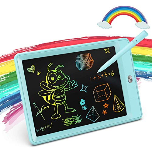 KOKODI LCD Writing Tablet, 8.5 Inch Toddler Doodle Board Drawing Tablet, Erasable Reusable Electronic Drawing Pads, Educational and Learning Toy for 2-6 Years Old Boy and Girls