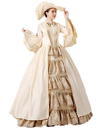 lady antoinette fancy dress - 3