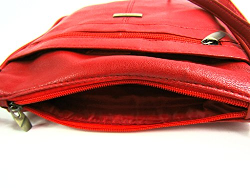 Woman Bags Emporium Leather The Red OqxUIwwn1
