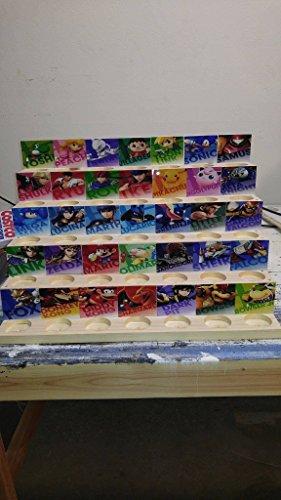 Amiibo Standalone Display Stand!! 35 slots!!
