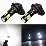 Alla Lighting 2000 Lumens High Power 3030 36-SMD Extremely Super Bright 6000K White 9006 HB4 LED Bulbs for Fog Driving Light Lamps Replacement