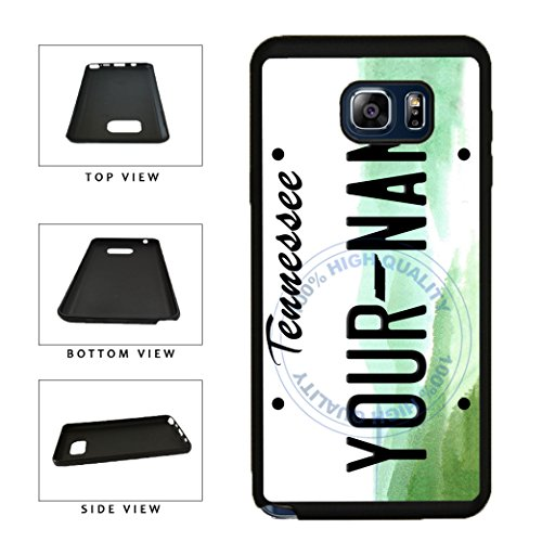 BleuReign(TM) Personalized Custom Name Tennessee State License Plate TPU RUBBER SILICONE Phone Case Back Cover For Samsung Galaxy S8