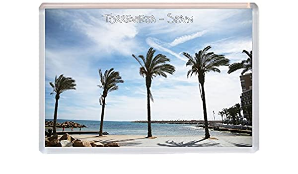 Torrevieja – Costa Blanca – España – Jumbo imán para nevera regalo/souvenir/Present: Amazon.es: Oficina y papelería