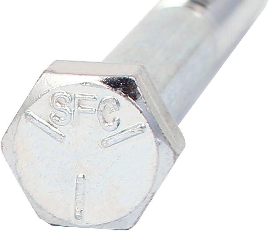0a762727c38c47eca4746820019c4a24 Aexit 5//16 x 1-3//4 Grade 5 UNC Zinc Plated Hex Head Cap Screw Bolt 10pcs