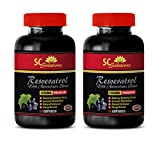 Product review for Brain supplement - PURE RESVERATROL SUPPLEMENT 1200 mg - Resveratrol vitamins - 2 Bottles 120 Capsules