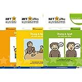 MFT Stars 3 Hefte Mukis Mund-, Schluck-, Sprechspaßspiele (Set): Übung und Spaß mit Muki, dem Affen