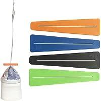 IGSA design Tisy Squeezer exprimidor de Pasta Dental y cremas - Paquete de 4 - Hecho de Plástico Reciclado