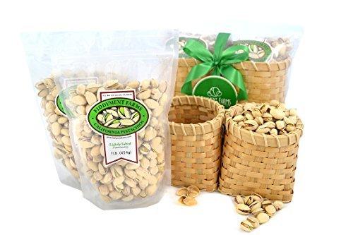 Fiddyment Farms 2 Lb Pistachio Basket
