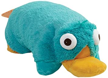 My Pillow Pets Disney Phineas Ferb Perry Large 18 Plush Pillow
