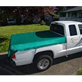 Mesh Tarp, 6'x8' for Pick-Up Trucks, Green. Cover Your Pick-Up Bed!