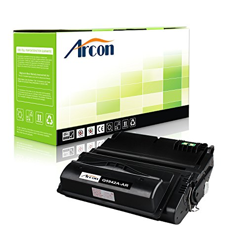 4200 Ink (ARCON 1PK (10,000 pages) Black Compatible Toner Cartridge Replacement For HP 42A Q5942A Q1338A Q5942 Used For HP LaserJet 4200 4250 4350 4300 4240 4345MFP 4350N 4250N 4350DTN 4250DTN 4350TN 4250TN)