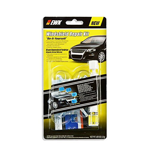 Star Page Kit - EWK Fix a Windshield Repair Kit, for Chips, Cracks, Bull's-Eyes and Stars