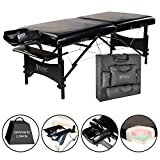 """Master Massage 30"""" Galaxy Lx Portable Massage Table Package Black Color with Memory"""
