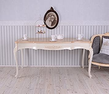 Esstisch vintage weiß  PALAZZO INT Esstisch Landhausstil Tisch Weiss Esszimmertisch Vintage ...